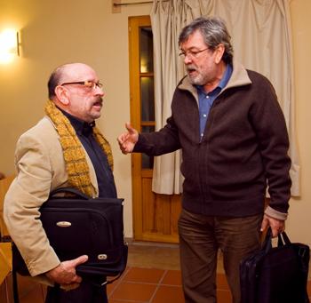 Jaume Fàbrega, Santiago La Parra, Alfons el Vell