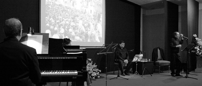 Recital Teodor Llorente a Gandia