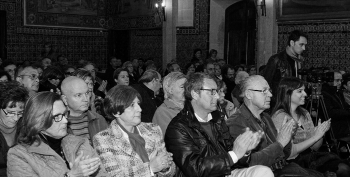 Presentació llibre Santiago La Parra