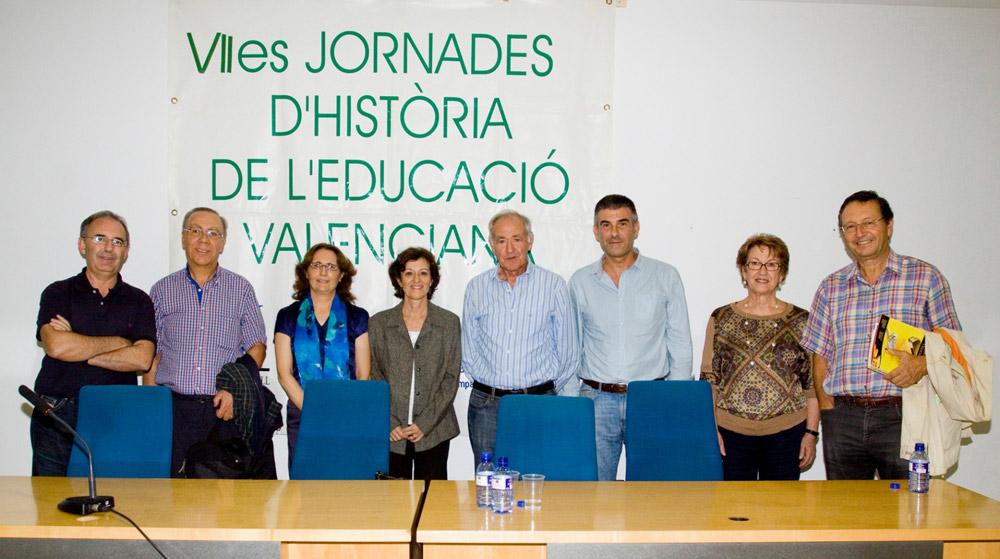 VIIes Jornades d'Història de l'educació valenciana. Mestres d'escola.