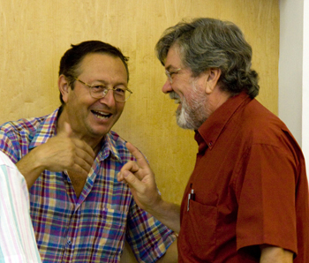 Santiago La Parra i Gabriel Garcia Frasquet