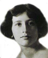 Simone Weil de jove