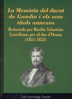 La memòria del ducat de Gandia i els seus títols annexos. Image