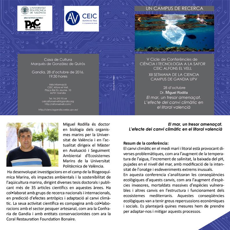 Diptic 2 Conferència