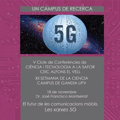 Quarta conferència del Vé Cicle de Ciència i Tecnologia a la Safor
