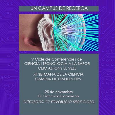 Cinquena conferència del Vé Cicle de Ciència i Tecnologia a la Safor