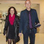 El director del CEIC, Rafa Delgado, acompanyat de la seua dona