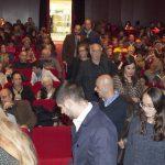 La sala del teatre plena