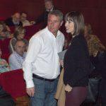 Diana Morant, alcaldessa de Gandia, amb el secretari del CEIC Lluís Romero