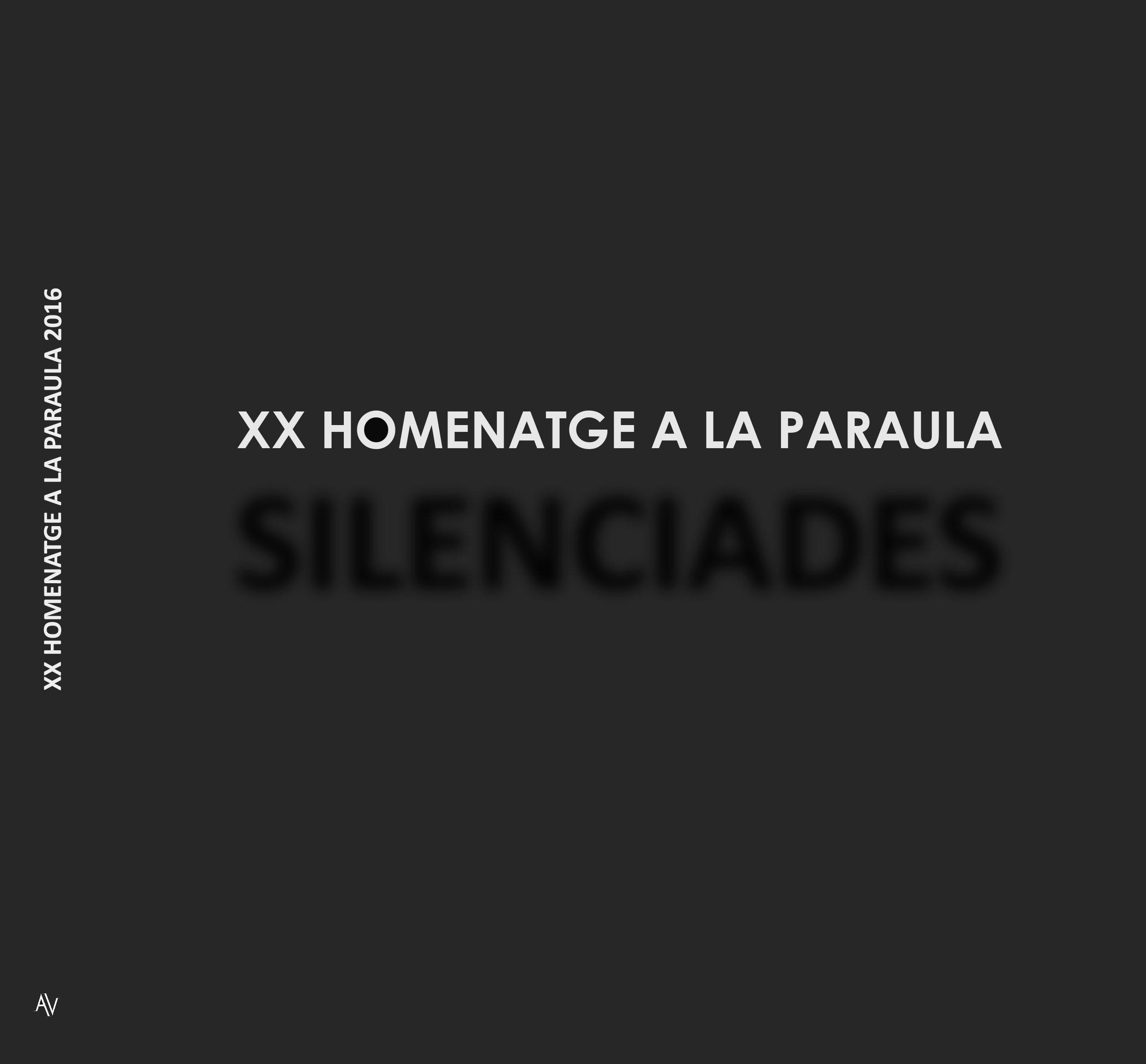 XX HOMENATGE A LA PARAULA