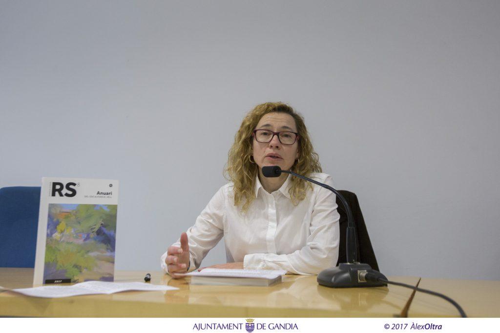 Isabel Canet, membre del consell de redacció de la Revista i consellera del CEIC Alfons el Vell