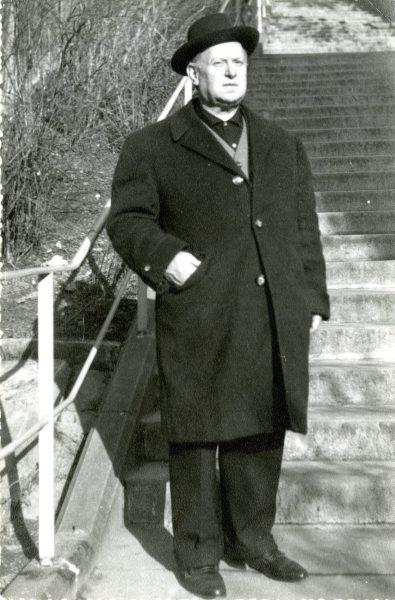 Alfons Roig en Stuttgart, 1961