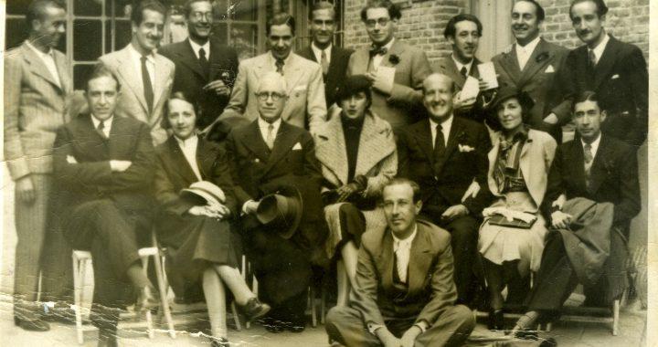 Homenatge a Vicente Aleixandre per la publicació del seu poemari La destrucción o el amor, 1934. (Fundación María Zambrano)