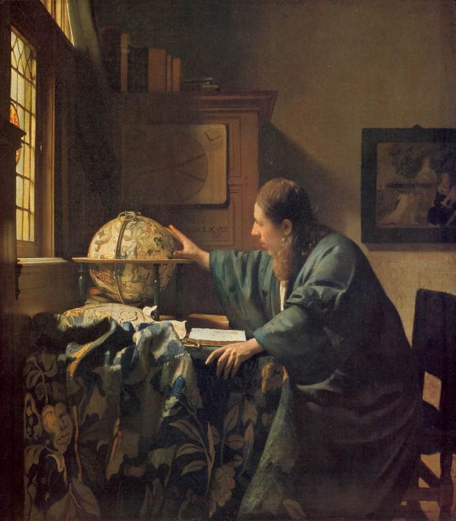 L'astrònom. Johannes Vermeer, 1668