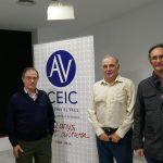 Antonio Torres amb Lluís Miret, Enric Marco i Joaquin Grau.