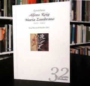 Epistolari Maria Zambrano - Alfons Roig
