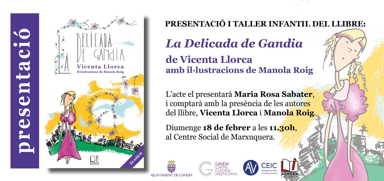 Invitació La Delicada Marxuquera