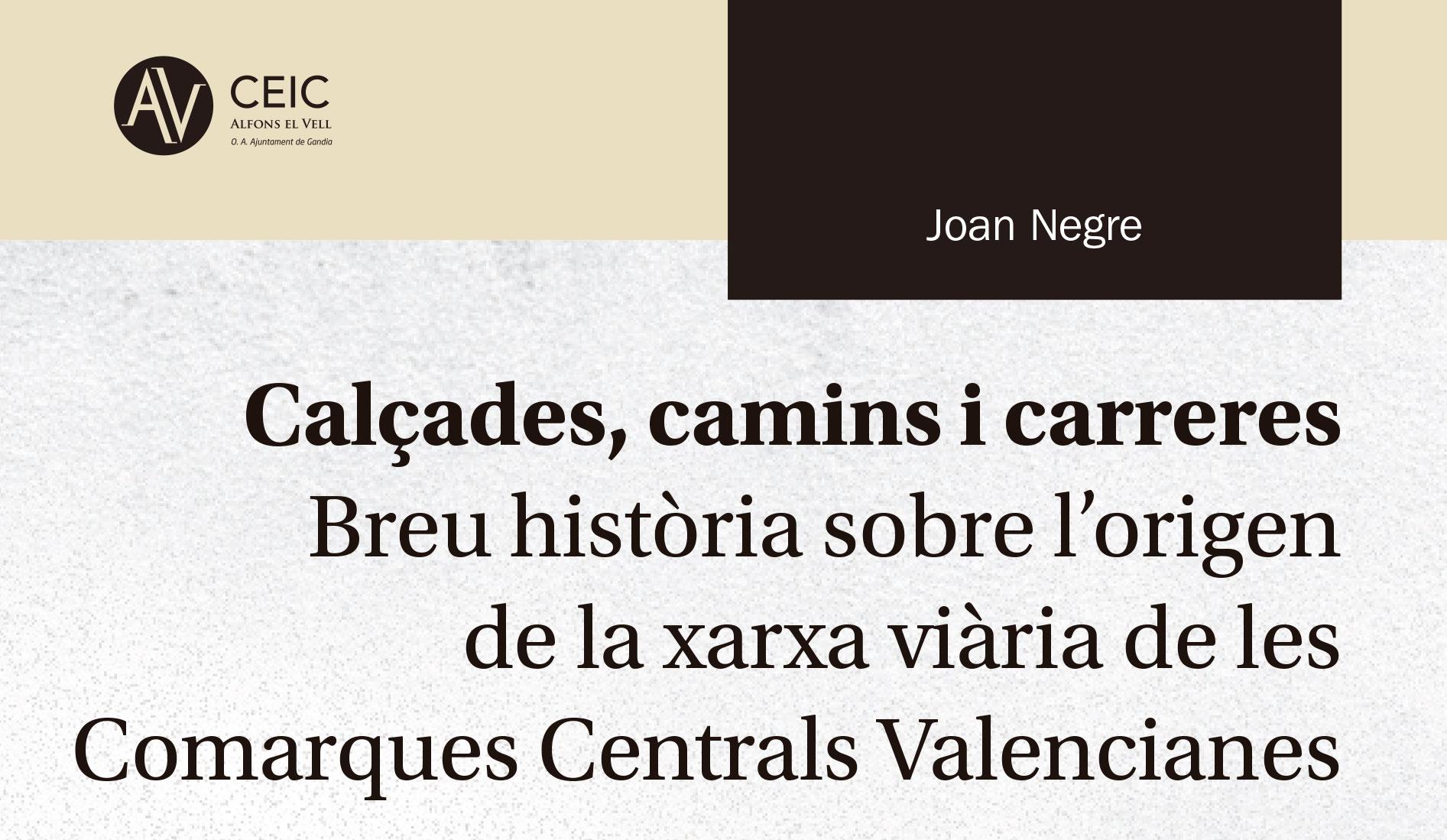 Presentació a Dénia del llibre de Joan Negre