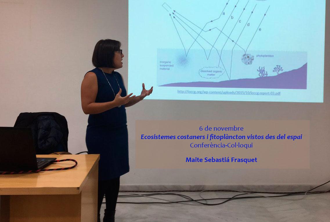 2n conferència: Ecosistemes costaners i fitoplàncton  vistos des del espai