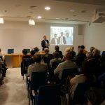 """Conferència-Col·loqui: """"Fractals i caos: l'aventura de la complexitat"""". A càrrec de Vicent Martínez.                                          Martínez."""