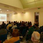 """Públic de la Conferència """"Fractals i caos: l'aventura de la complexitat"""""""