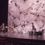 """Diferents moments de la representació de l'obra teatral: """"Angoixa"""