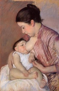 Maternitat. Mary Cassatt -1890