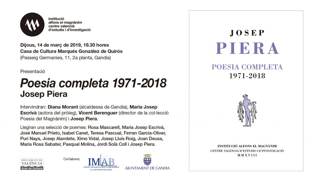 Tarja Josep Piera GANDIA Xac