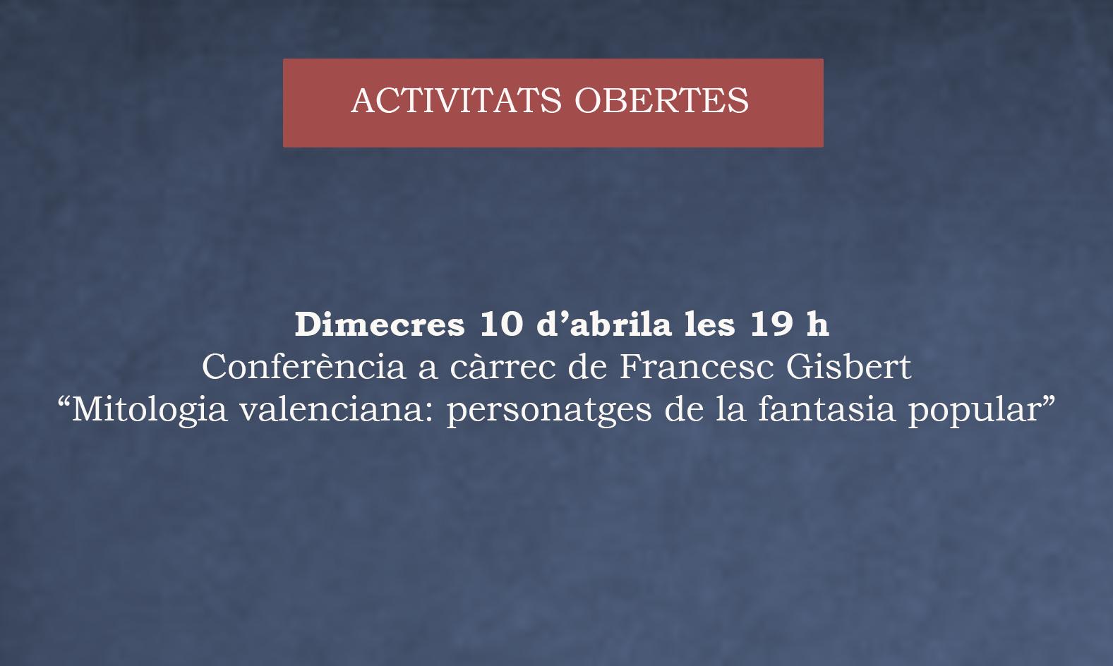 3a Conferència SAFOR DE LLETRES