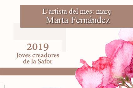 L'artista del mes: març
