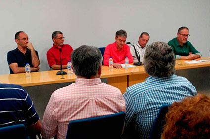 Fotos de l'acte de presentació  «INOBLIDABLES»