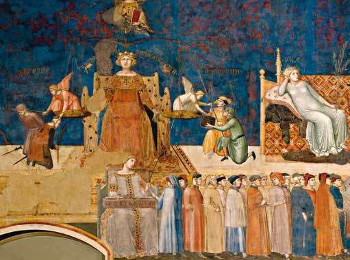 Ambrogio-Lorenzetti-Good-government-Sala-della-pace-North-wall-Palazzo-Pubblico