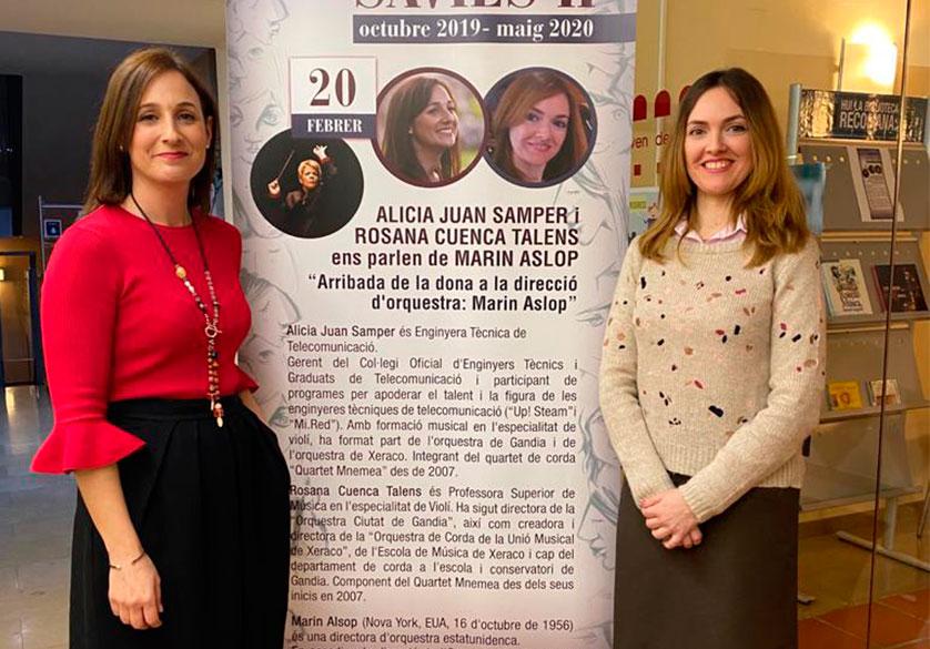 V CONFERÈNCIA «DONES SÀVIES II»:  MARIN ALSOP I EL PODER DE LA MÚSICA