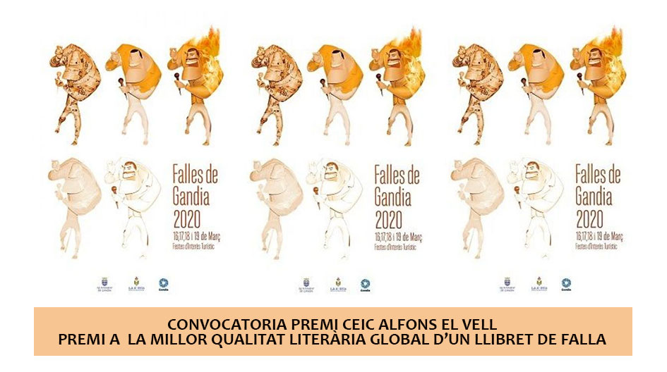 Convoctòria premi CEIC Alfons el Vell de Llibret Faller