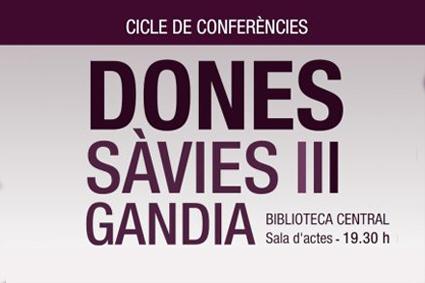 2a CONFERÈNCIA «DONES SÀVIES III»