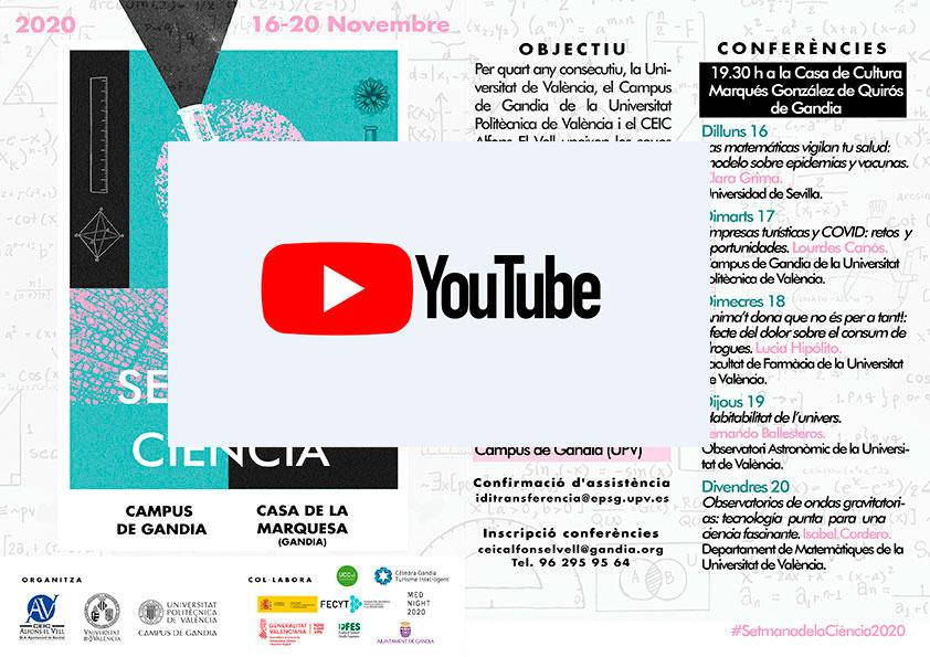 CANAL YOUTUBE SETMANA DE LA CIÈNCIA