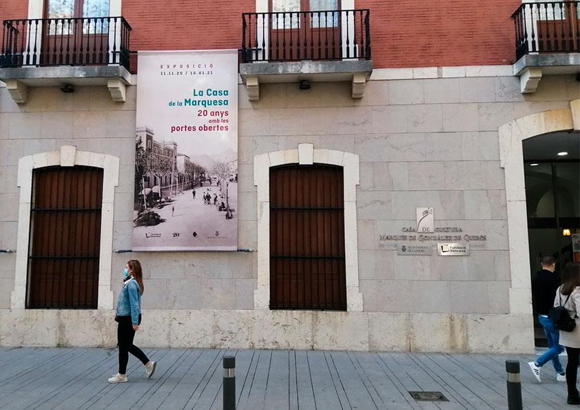 LA CASA DE LA MARQUESA, 20 ANYS CREANT CULTURA