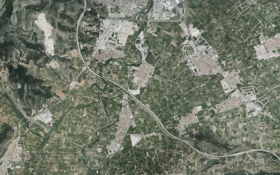 Imatge del Visor Cartogràfic de la Generalitat Valenciana - visor.gva.es
